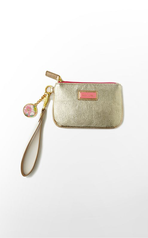 Mini Wristlet Canvas