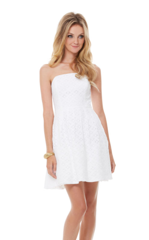 Caitlin Strapless Dress
