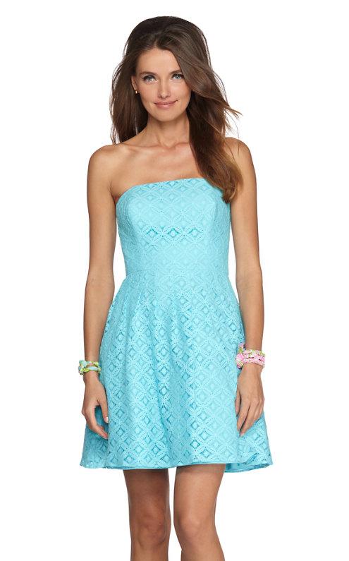 Caitlin Strapless Dress