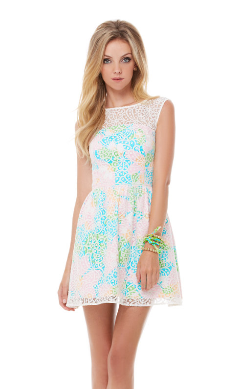 Morrison Lace Overlay Dress