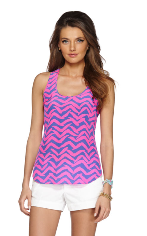 Alyssa Racer Back Tank Top