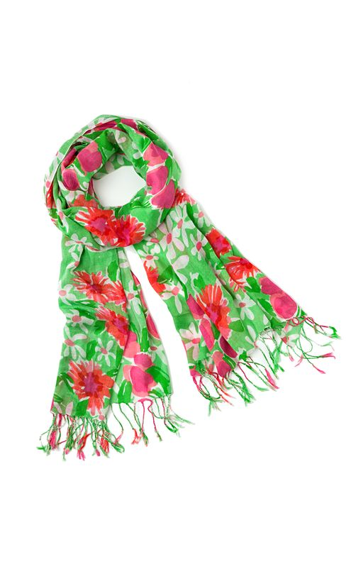 Murfee Scarf - New Green Everything Nice