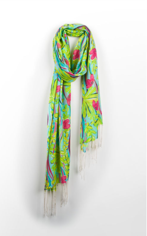 murfee scarf to see you lilly pulitzer