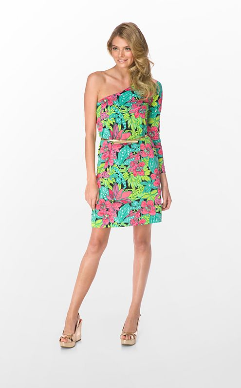 FINAL SALE - Whitaker Dress Printed