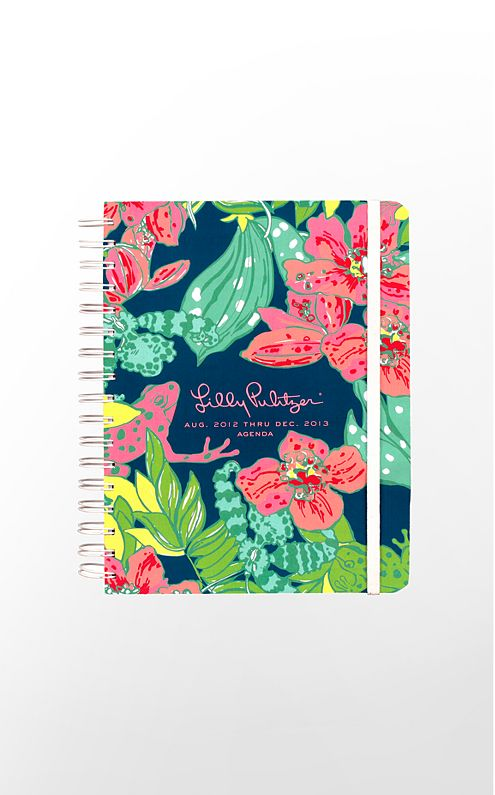 Sorority Trends: Lilly Pulitzer Planners