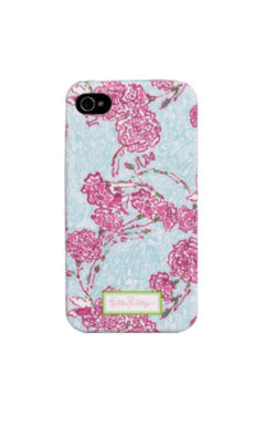 Lilly Pulitzer iPhone 4/4s Cover - Pi Beta Phi