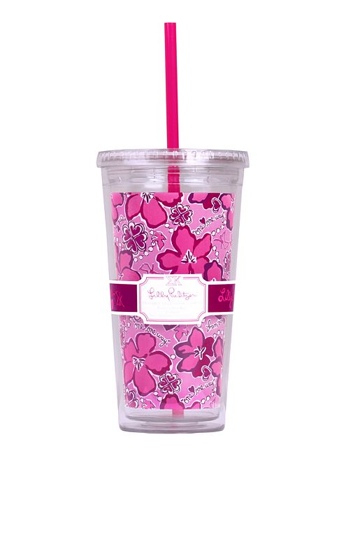 Tumbler With Straw- Sigma Kappa