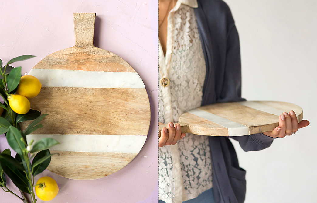 Natural Serving Board Care