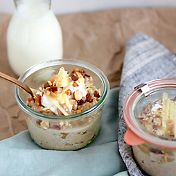Overnight Oats with Nourishing Matters