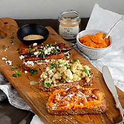 3 Hearty Toasts with Nourishing Matters