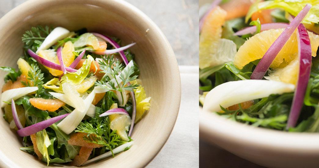 A Winter Citrus Salad
