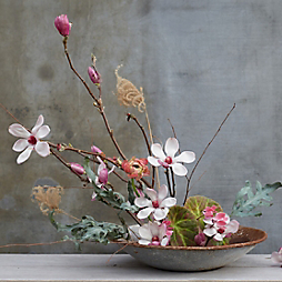 Winter Branch Ikebana with Design by Terrain