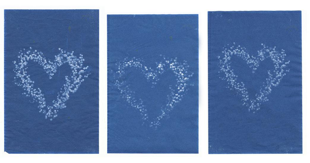 Sun Printed Valentines
