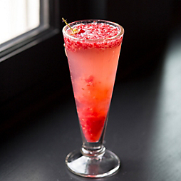 A Sweetheart Champagne Cocktail