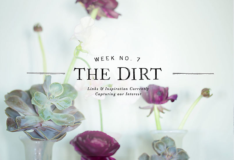 The Dirt | 2014 | week no. 7