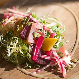 A Bright Beet Salad