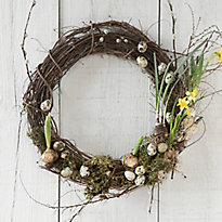 How-To: Egg + Bloom Wreath