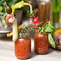 A Make-Your-Own Bloody Mary Bar