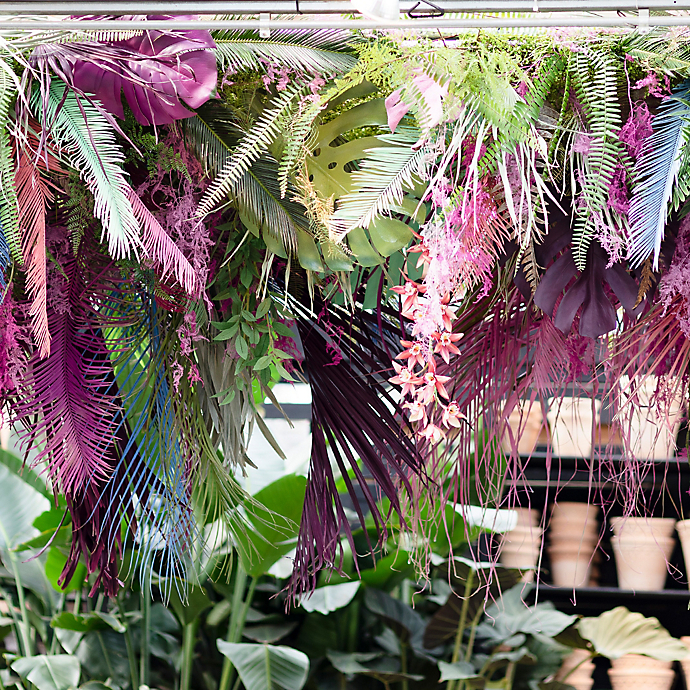 A Tropical Spring Installation at Styer's