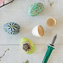 How-To: Wood Burned Easter Eggs