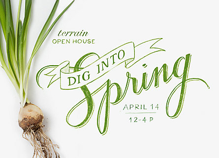 Dig Into Spring, Our Annual Open House
