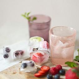 Fresh Fruit Ice Cubes