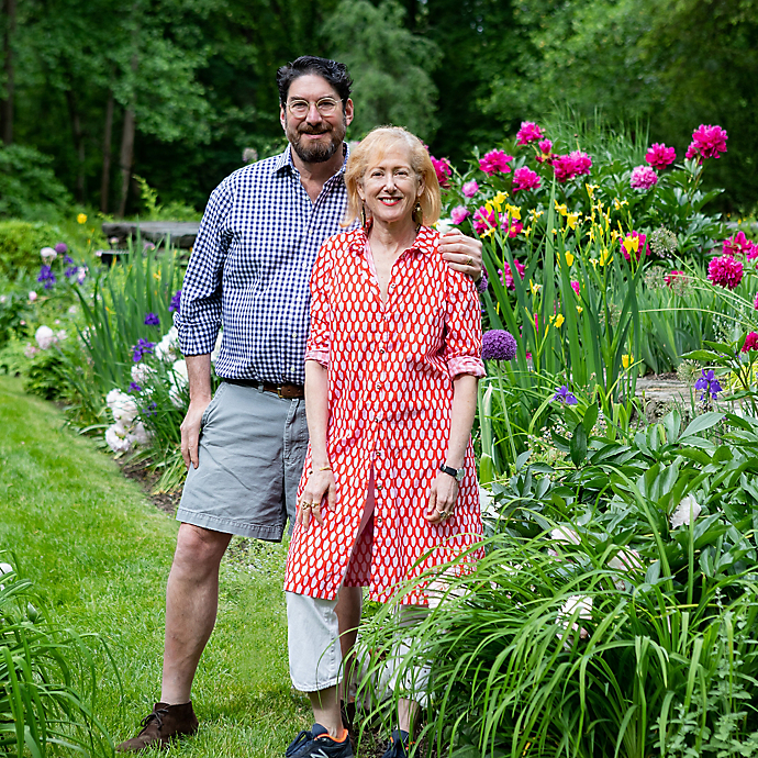 A Garden Tour: Wendy and Chris' Chestnut Hill Retreat