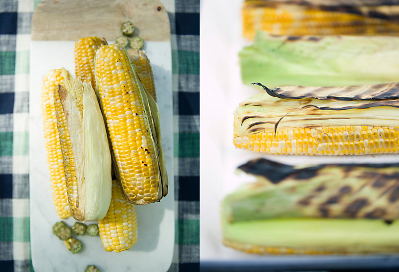 Grilled Corn with Garlic Confit Aioli