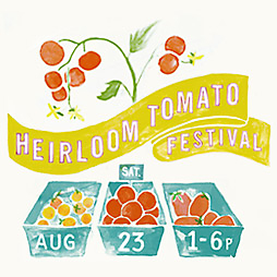 Heirloom Tomato Printable Poster