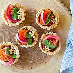 Simple Summer Tomato Tarts