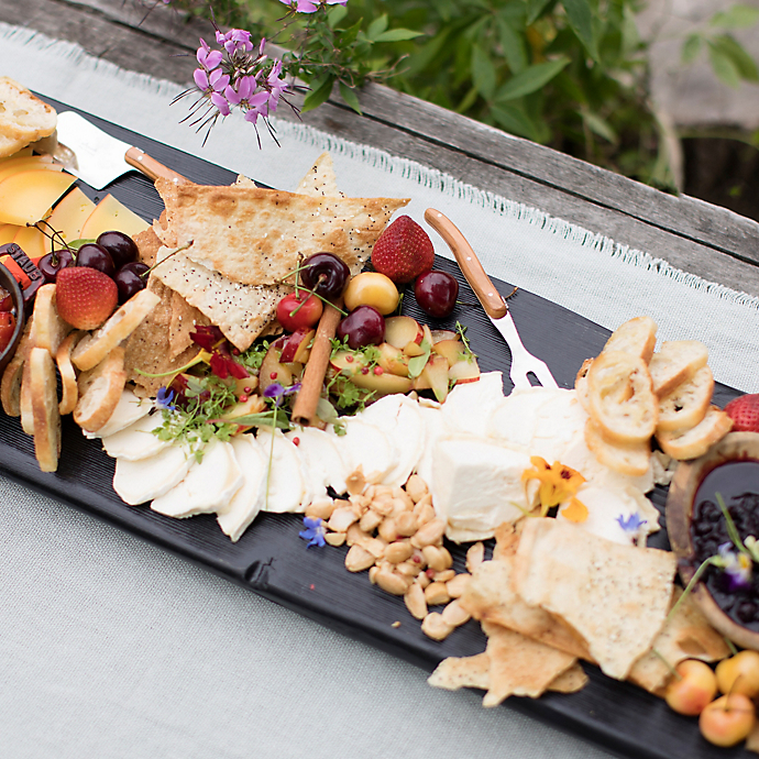 Stone Fruit + Doe Run Cheese Board