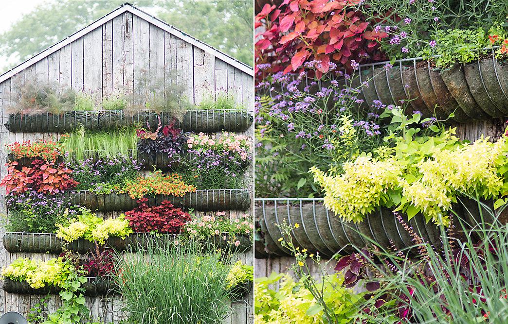 Vertical Gardens Through The Seasons | The BLOG At Terrain