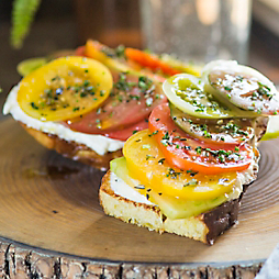 Heirloom Tomatoes Two Ways