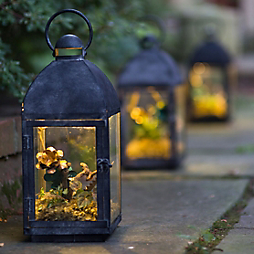 How-To: Glowing Pathway Lanterns