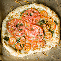An Heirloom Tomato Tart