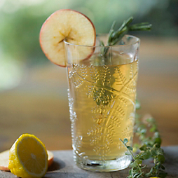 Spiced Cider Bourbon Punch
