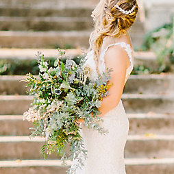 Foraged Wedding Flowers