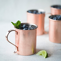 A Moscow Mule with Society Hill Society