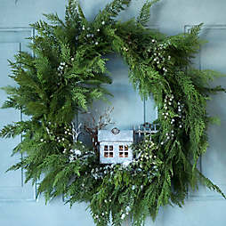 How-To: A Zinc Homestead Wreath