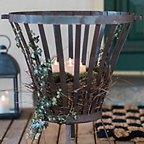 A New Look for the Basket Fire Pit