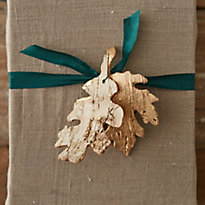 Birch Bark Leaves Around the House