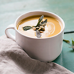 Spiced Pumpkin Bisque with Good Spoon Soupery