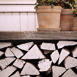 Design by Terrain: A Winter Woodpile