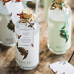 Cocktail Recipe Tags for Holiday Hostess Gifts