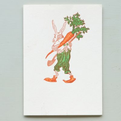 Farmer Rabbit Card
