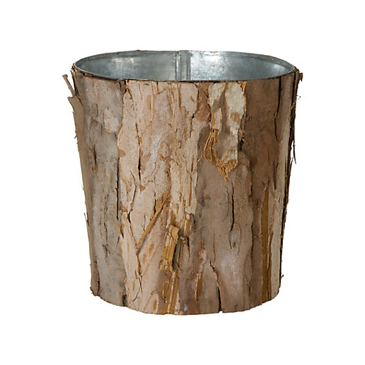 Wrapped Bark Pot