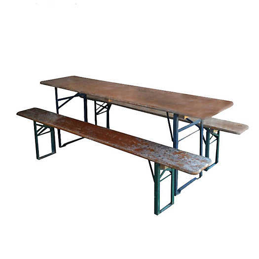 Beer Garden Table & Bench