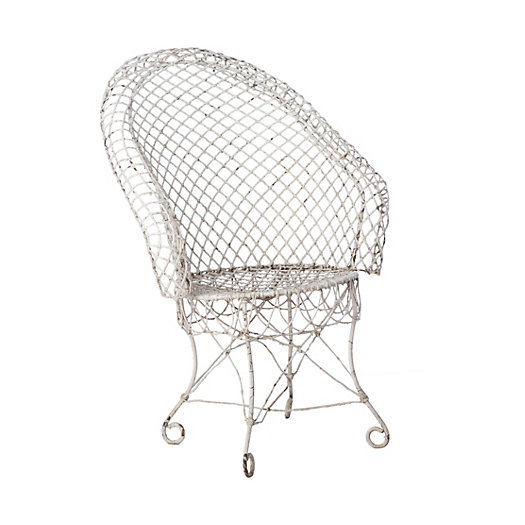 English Wire Chair