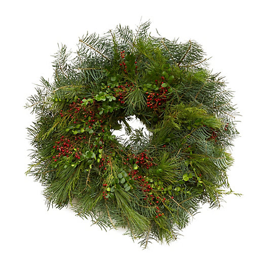 Fir & Rosehip Wreath