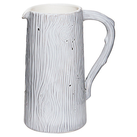 Wood Grain Pitcher